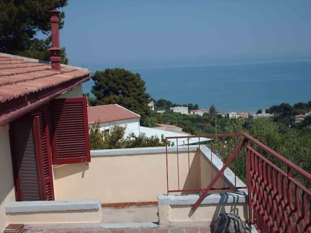 Gargano attico molto bello Villa Matassa 2-6 posti - San Menaio - Wohnung