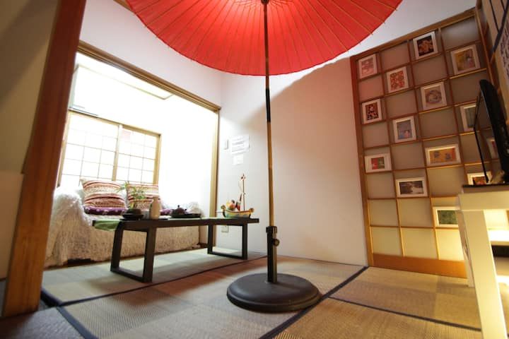Tradtional inn at Namba 4Bed for 6PAX