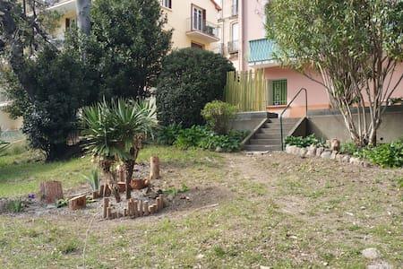 T2 BIS avec grande terrasse ,à Amèlie les bains - Amélie-les-Bains-Palalda - 公寓