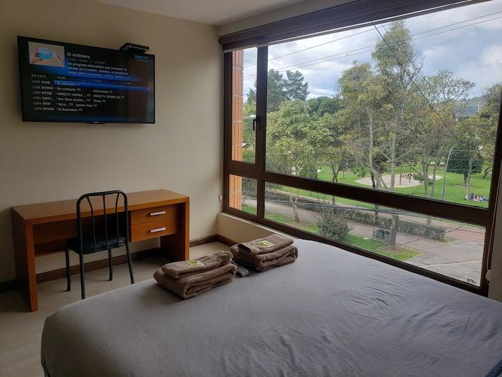 Hermosa Suite Nueva frente al Parque de la Madre