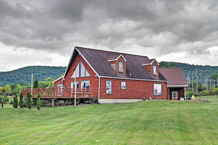 Ticonderoga Home on 8 Acres Steps from Lake George