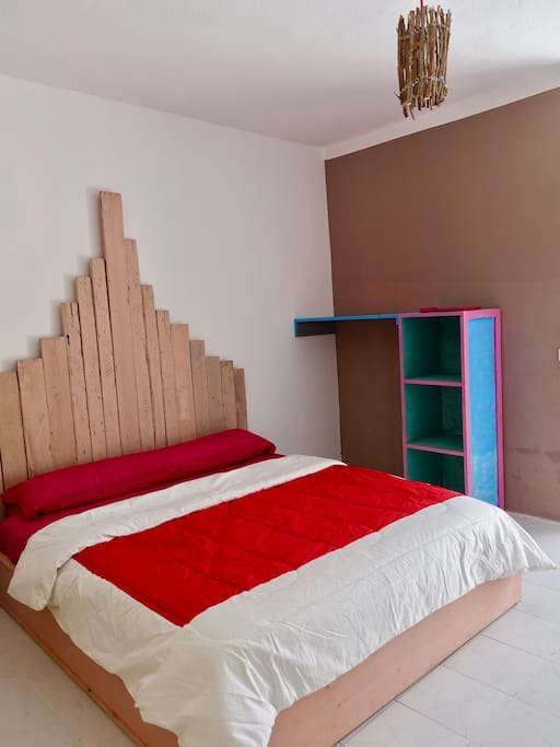 Native room double Kingsize bed