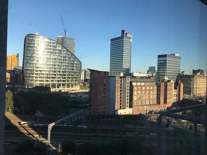 Central near Manchester arena with friendly hosts
