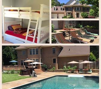 Cozy, Comfy, Clean and Quiet - Fayetteville - Hus