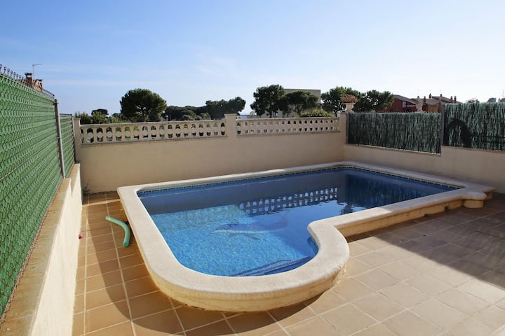 AT130 PINTOR FORTUNY: House for 8 people with private pool 1 km from the beach