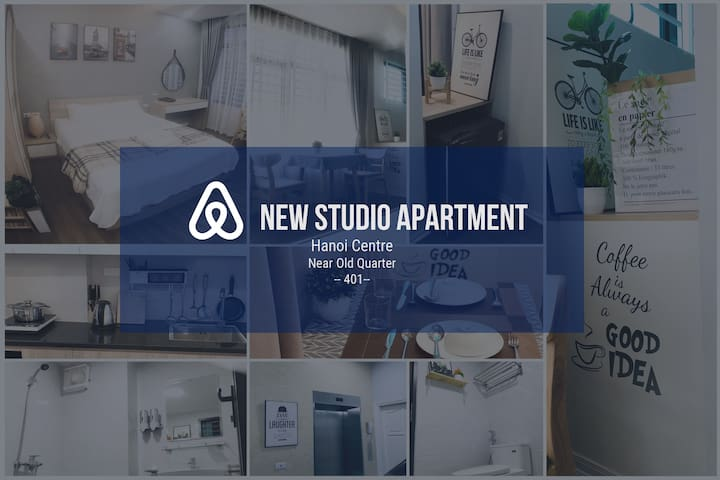 #401# New Studio Apt, Hoan Kiem, near old quarter