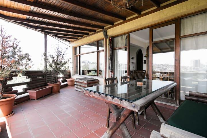 Great Terrace&Fireplace in Besiktas!