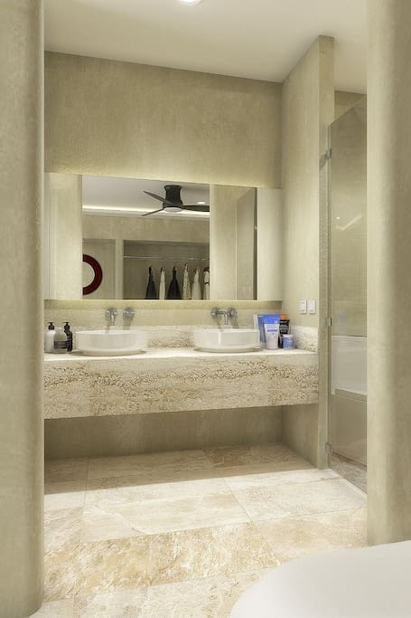 Bathroom : Available from December 2017