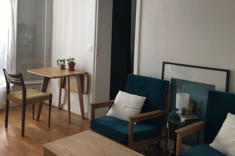 Appartement Place Monge / Place de la Contrescarpe