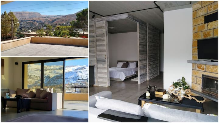 Brand NEW Chalet with Panoramic view & Terrace