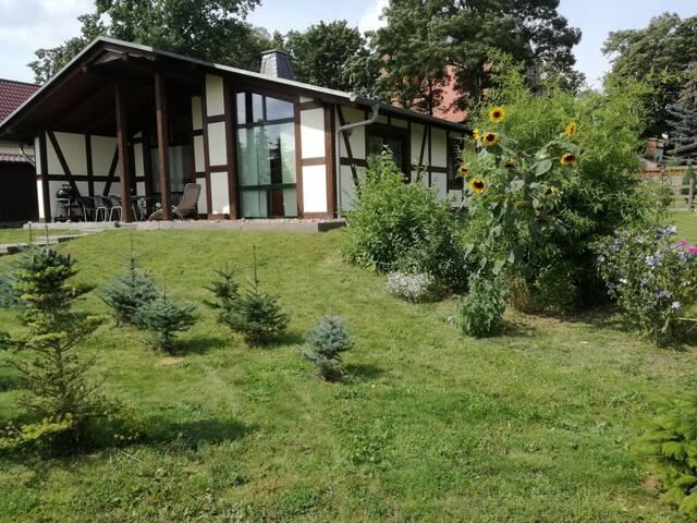 """Ferienhaus """"DIANA"""" in Menkin bei Brüssow"""