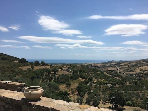 Basilicata, sea and countryside, nearby Matera