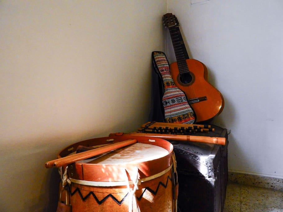 Rincón musical - Musical corner