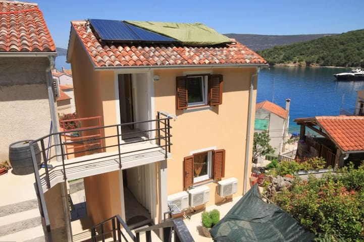 One bedroom apartment with balcony and sea view Valun, Cres (A-8086-c)