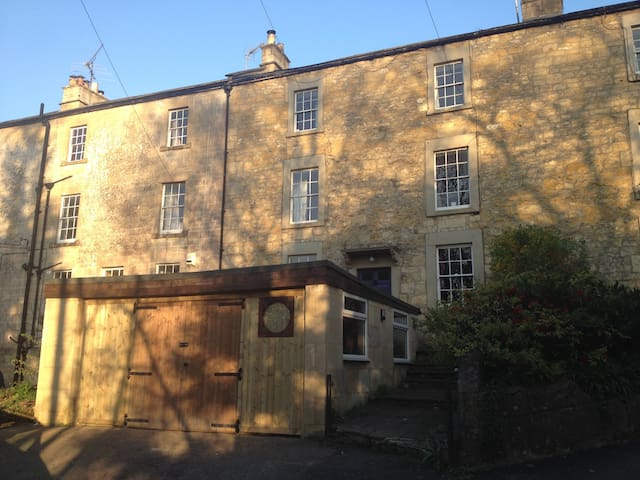 Georgian house in lovely village 10 mins from Bath - Freshford - House