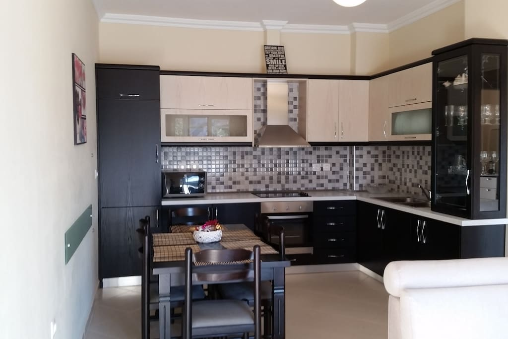 Wonderful kitchen with all equipments in it
