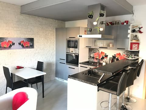 Luxury romantic apartment 30 minutes from centre