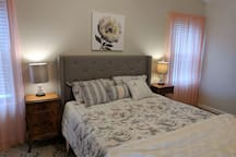 Comfortable Queen Bed In Large Master Suite