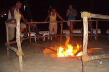 Cola Beach Fire Place