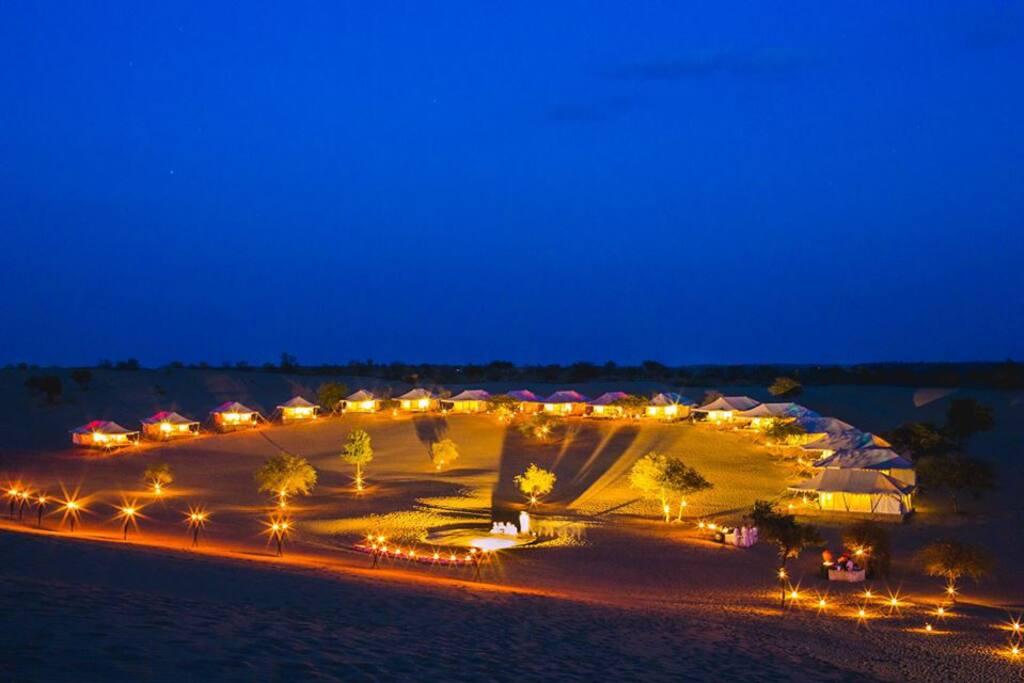 Samsara Desert Camp & Resort, Evening