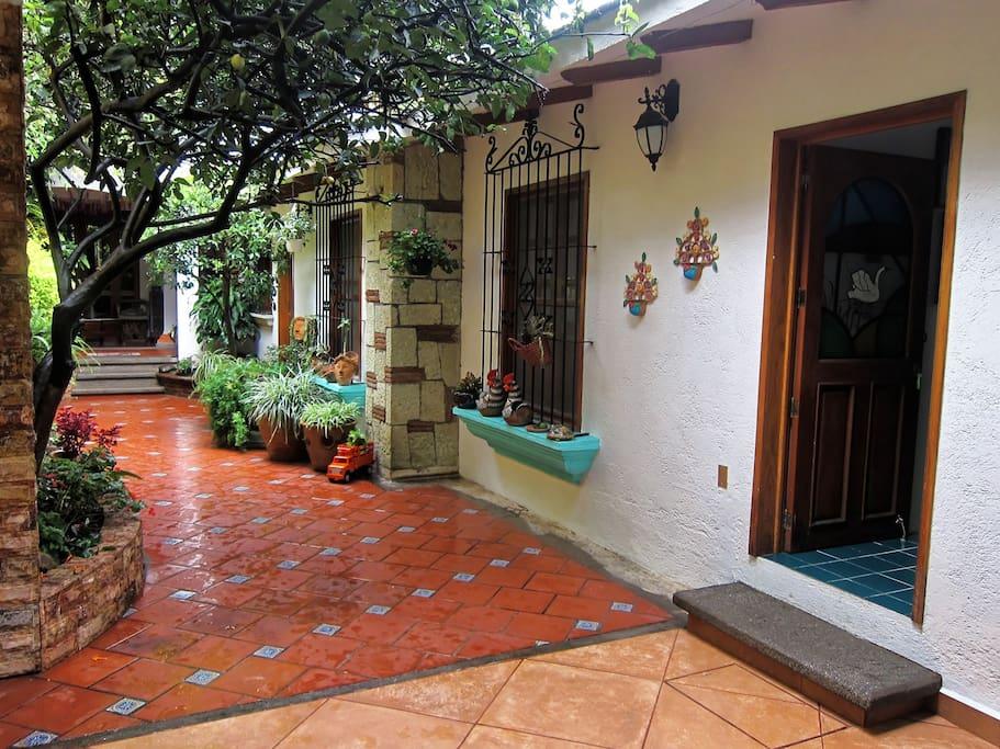 Apartment #2 Entrance
