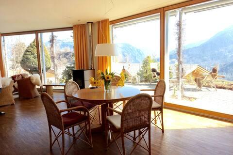 Ferienhaus mit atemberaubendem Blick und Sauna