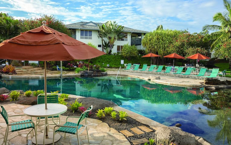 Kauai 2 Bdrm Villa | Near Beaches & Restaurants