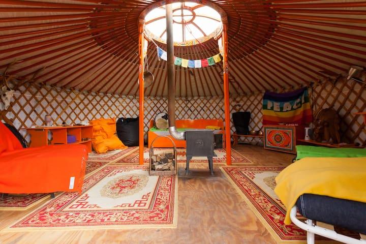 Slapen in een geheel complete YURT! - Toldijk - Yurt