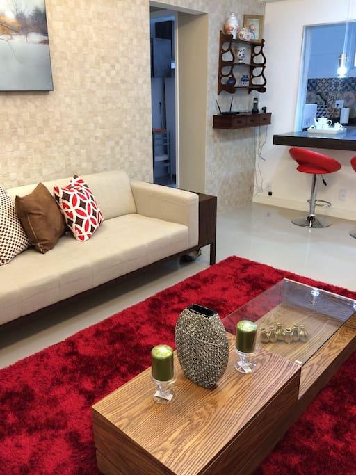 Bela decoração e conforto!