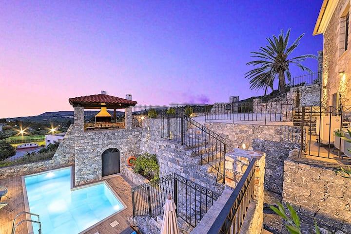 Acrothea Villa Private Pool