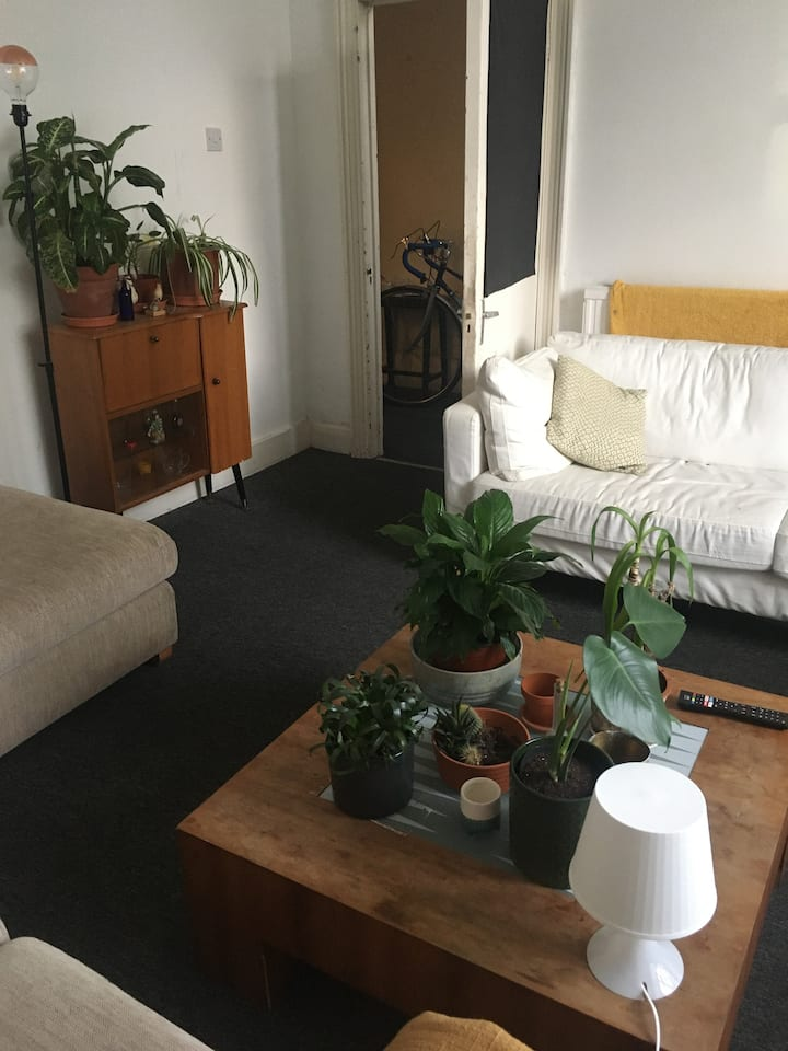 Bright, peaceful room in heart of Hackney Central