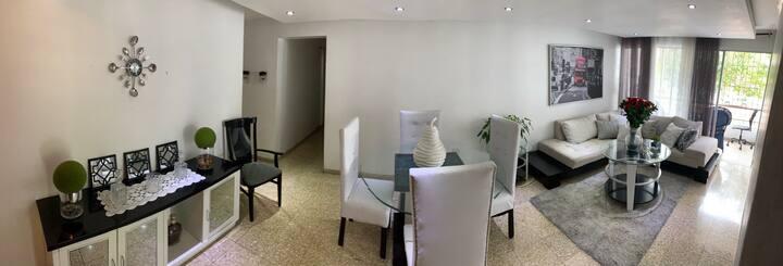 Apartamento 3 habitaciones confotable y comodo