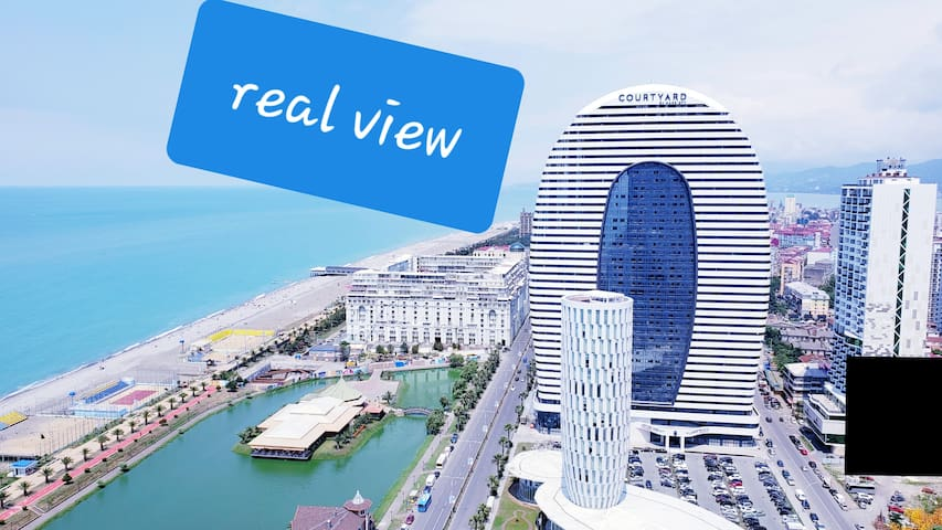ORBI CITY SEAVIEW DELUXE 34  FLOOR FULL FURNISHED