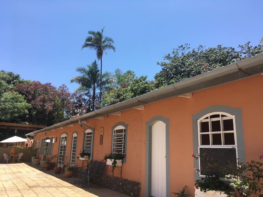 "Vista da ""Villa Colonial"""