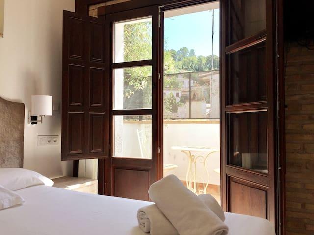 Apartamento con terraza y vistas a la Alhambra