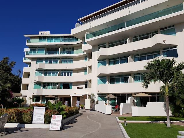 Excelente departamento frente a la playa, Bucerías