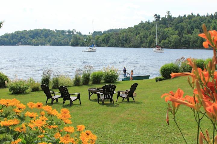 Le temps d'une pause au bord du lac Mégantic - Piopolis - Apartament