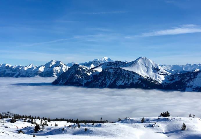 Maison traditionnelle Savoie, Massif des Bauges