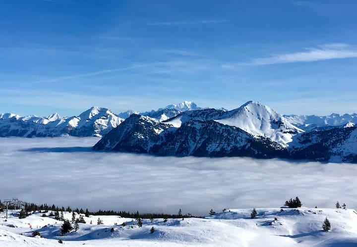 """Savoie, gîte """"Entre Pierre et Terre"""" Arith/ Bauges"""