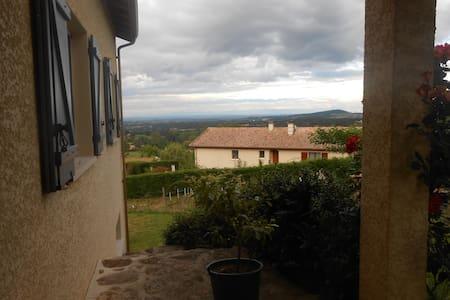 Calme et vue panoramique - Saint-Romain-d'Ay