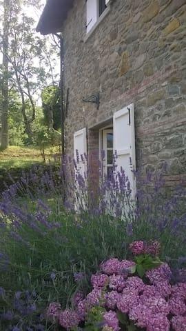 Toscana, casa in pietra vicino al fiume. - Mulazzo - その他