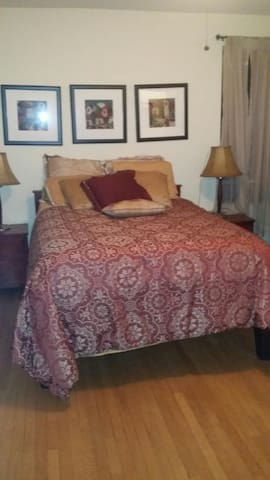 Large Furnished bedroom