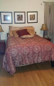 Large Furnished bedroom