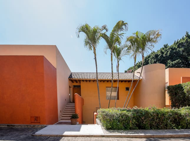 Cuernavaca-Beautiful Mexican House near Tepoztlan