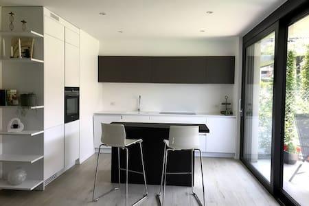 Elegant apartment with big private garden