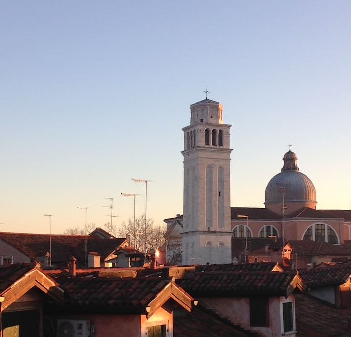 The tower bell of San Pietro in Castello