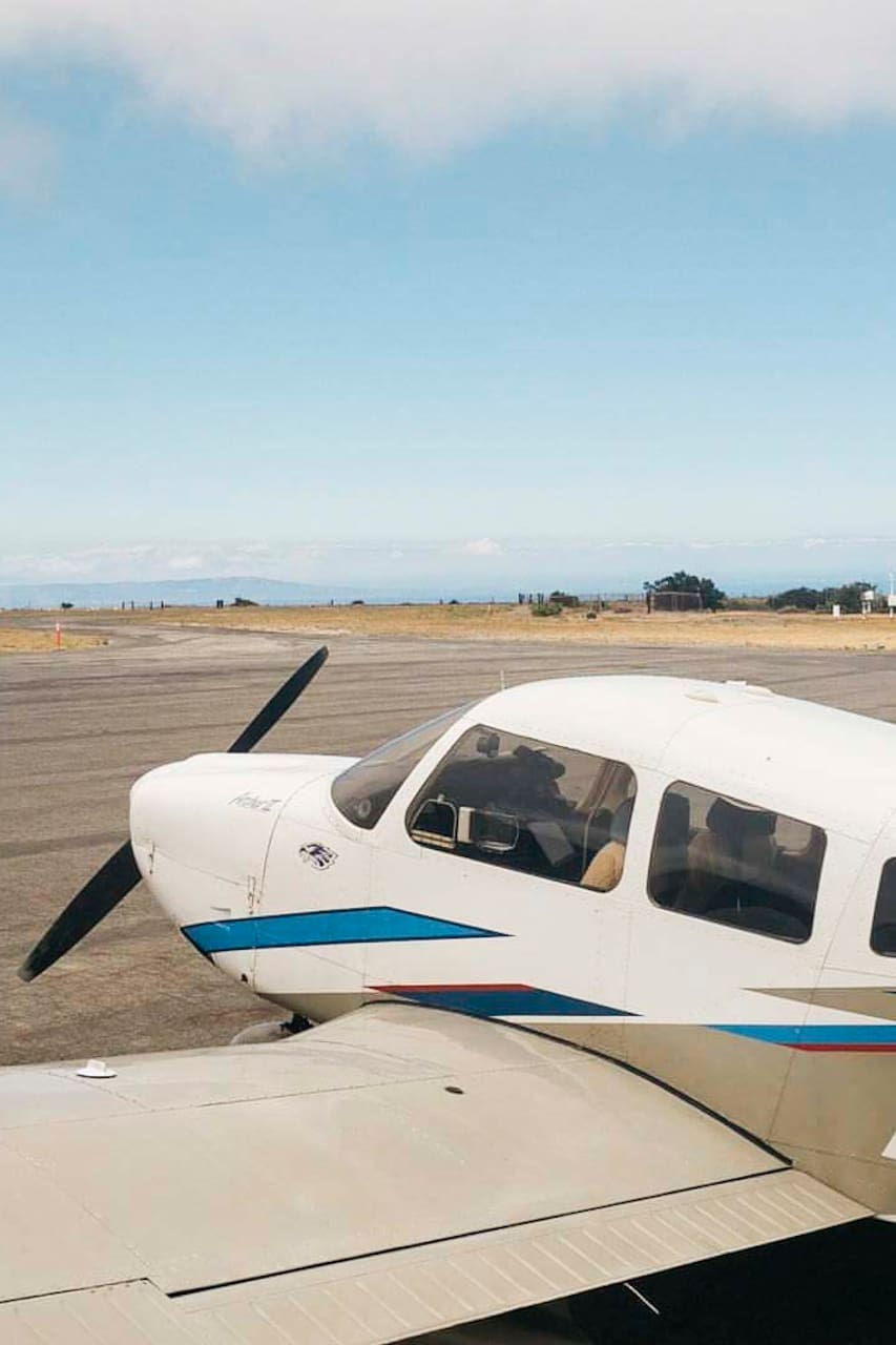 Learn to fly a plane above Los Angeles