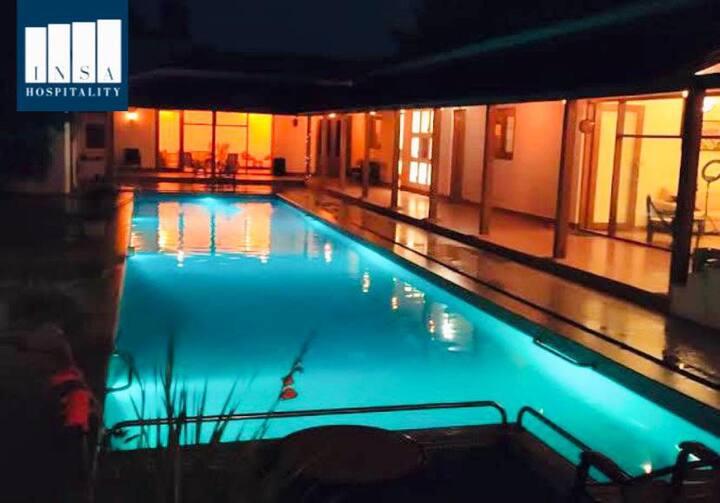 Emerald by insa, Bengaluru stay, farmstay, pool