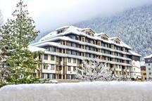 Au Coeur de Chamonix, face au Mont Blanc