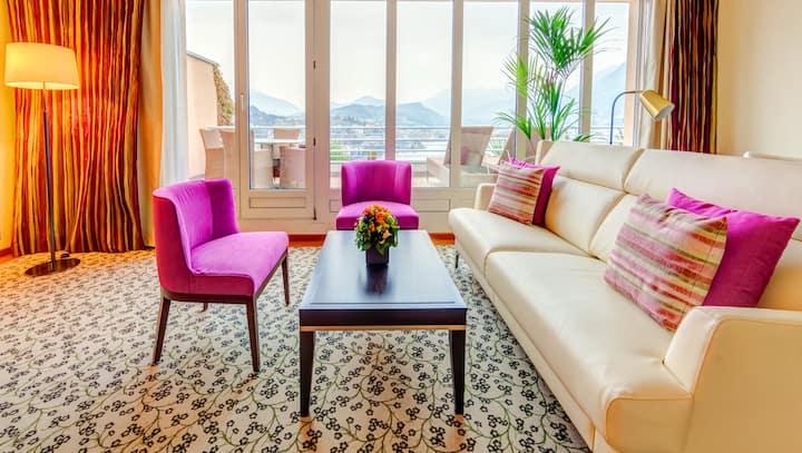 Appartamento Penthouse con vista lago